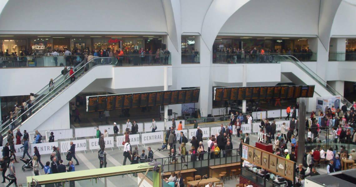 Birmingham's New Street Station