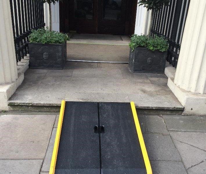 Ramp to provide inclusive access