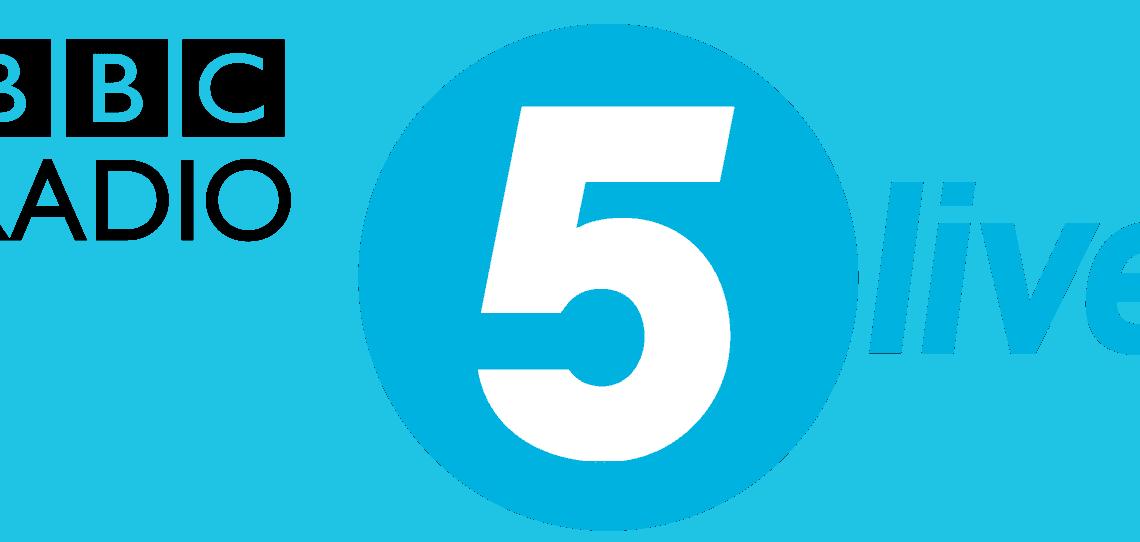 BBC Radio 5 LIve rounded logo